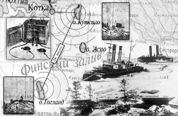 А.С.Попова между островами